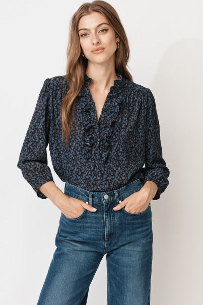 Lucy Blouse - Daisy Print
