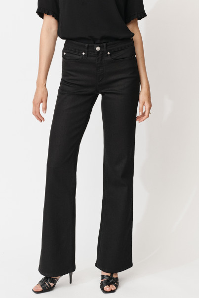 Edith Jeans - Solid Black