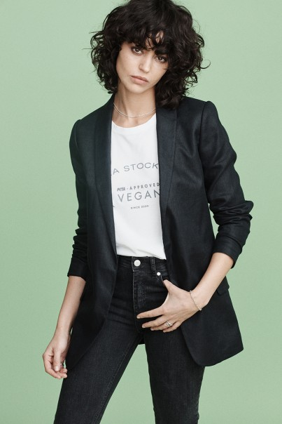 Kate Blazer - Black Linen