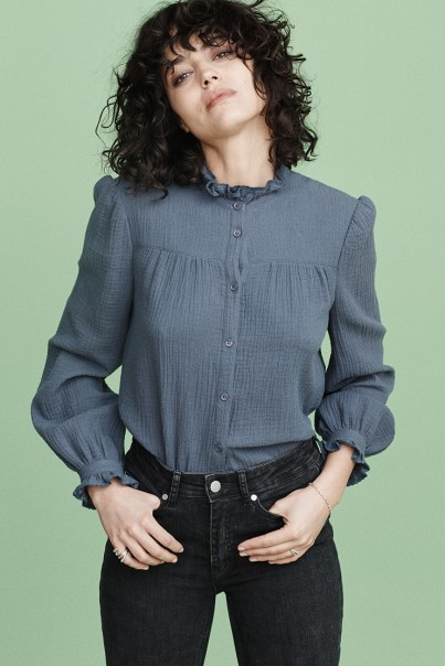 Joni Blouse - Blue