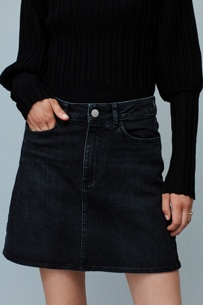 Sid Denim Skirt